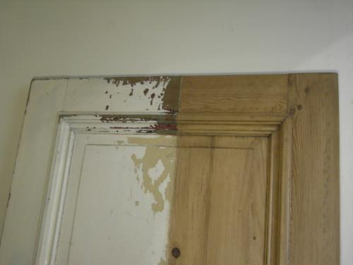 half geloogde deur (voorbeeld)